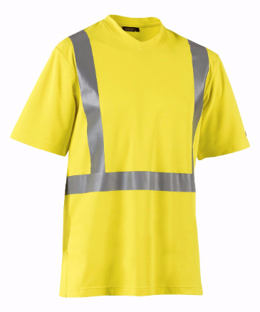 Blaklader 3382 High Visibility T-Shirt (Yellow)